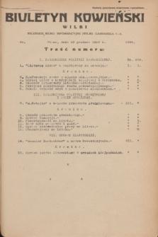 Biuletyn Kowieński Wilbi. 1935, nr 1395 (18 grudnia)