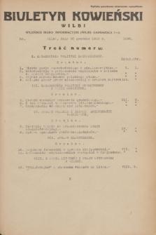 Biuletyn Kowieński Wilbi. 1935, nr 1396 (20 grudnia)