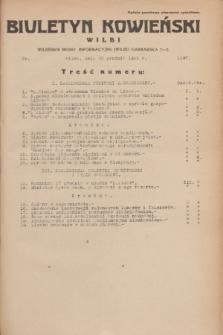 Biuletyn Kowieński Wilbi. 1935, nr 1397 (23 grudnia)