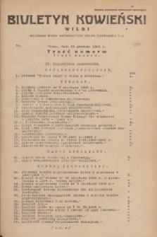 Biuletyn Kowieński Wilbi. 1935, nr 1399 (31 grudnia)