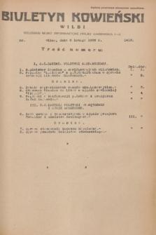 Biuletyn Kowieński Wilbi. 1936, nr 1413 (6 lutego)