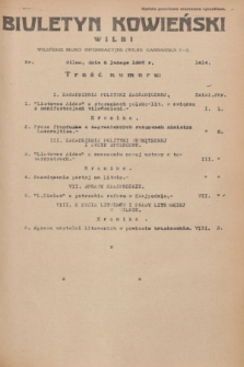 Biuletyn Kowieński Wilbi. 1936, nr 1414 (8 lutego)