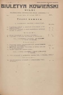 Biuletyn Kowieński Wilbi. 1936, nr 1416 (12 lutego)