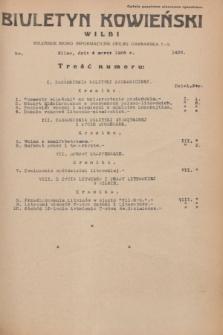 Biuletyn Kowieński Wilbi. 1936, nr 1426 (4 marca)