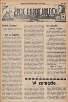 Życie Parafjalne : parafja Przen. Trójcy wBędzinie. 1936, nr29