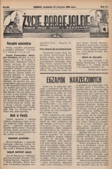 Życie Parafjalne : parafja Przen. Trójcy wBędzinie. 1936, nr33