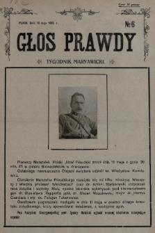 Głos Prawdy : tygodnik maryawicki. 1935, nr6