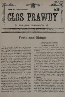 Głos Prawdy : tygodnik maryawicki. 1935, nr26