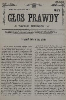 Głos Prawdy : tygodnik maryawicki. 1935, nr29