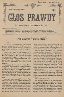 Głos Prawdy : tygodnik maryawicki. 1936, nr6