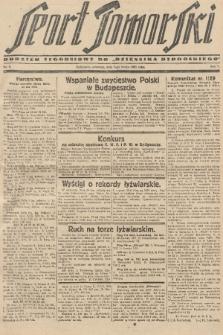"Sport Pomorski : dodatek tygodniowy do ""Dziennika Bydgoskiego"". R. 5, 1929, nr6"