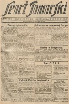 "Sport Pomorski : dodatek tygodniowy do ""Dziennika Bydgoskiego"". R. 5, 1929, nr7"