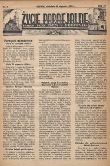 Życie Parafjalne : parafja Przen. Trójcy wBędzinie. 1938, nr3