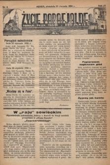 Życie Parafjalne : parafja Przen. Trójcy wBędzinie. 1938, nr4