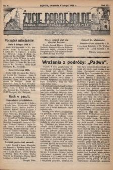 Życie Parafjalne : parafja Przen. Trójcy wBędzinie. 1938, nr6