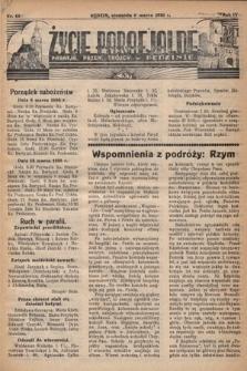 Życie Parafjalne : parafja Przen. Trójcy wBędzinie. 1938, nr10