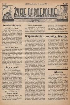Życie Parafjalne : parafja Przen. Trójcy wBędzinie. 1938, nr12