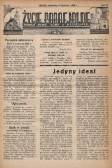 Życie Parafjalne : parafja Przen. Trójcy wBędzinie. 1938, nr14