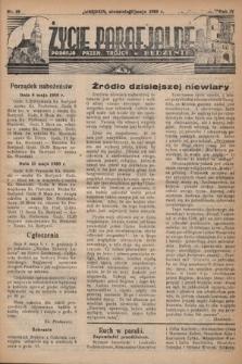 Życie Parafjalne : parafja Przen. Trójcy wBędzinie. 1938, nr19