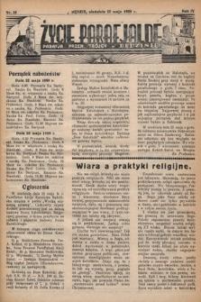 Życie Parafjalne : parafja Przen. Trójcy wBędzinie. 1938, nr21