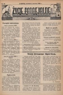 Życie Parafjalne : parafja Przen. Trójcy wBędzinie. 1938, nr23