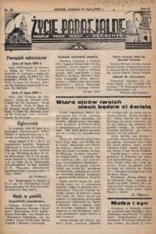 Życie Parafjalne : parafja Przen. Trójcy wBędzinie. 1938, nr28