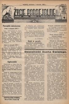 Życie Parafjalne : parafja Przen. Trójcy wBędzinie. 1938, nr32