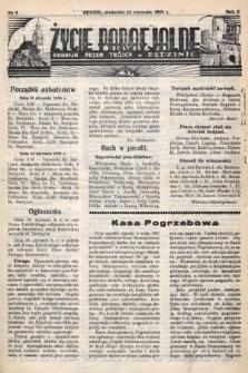 Życie Parafjalne : parafja Przen. Trójcy wBędzinie. 1939, nr3