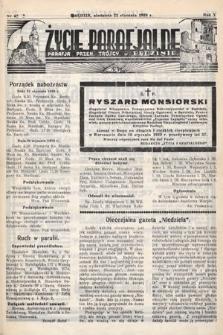 Życie Parafjalne : parafja Przen. Trójcy wBędzinie. 1939, nr4