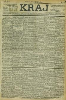 Kraj. 1870, nr 42 (22 lutego)