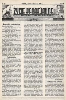 Życie Parafjalne : parafja Przen. Trójcy wBędzinie. 1939, nr20