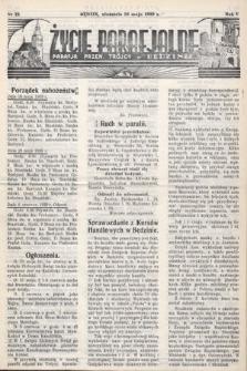 Życie Parafjalne : parafja Przen. Trójcy wBędzinie. 1939, nr22