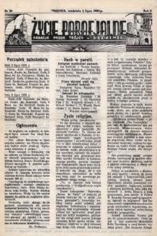 Życie Parafjalne : parafja Przen. Trójcy wBędzinie. 1939, nr26