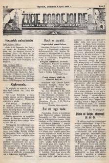 Życie Parafjalne : parafja Przen. Trójcy wBędzinie. 1939, nr27