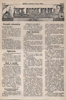 Życie Parafjalne : parafja Przen. Trójcy wBędzinie. 1939, nr28