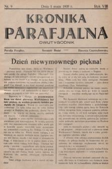 Kronika Parafjalna : dwutygodnik. 1935, nr9