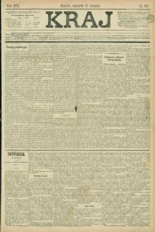 Kraj. 1872, nr 190 (22 sierpnia)