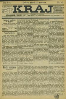 Kraj. 1874, nr 140 (23 czerwca) + dod.