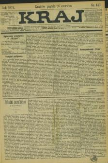Kraj. 1874, nr 143 (26 czerwca)