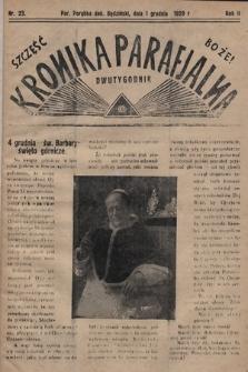 Kronika Parafjalna : dwutygodnik. 1929, nr23
