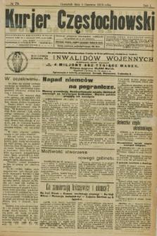 Kurjer Częstochowski. R.1, № 78 (5 czerwca 1919)