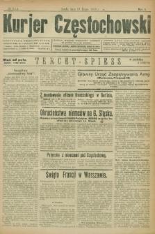 Kurjer Częstochowski. R.1, № 111 (16 lipca 1919)