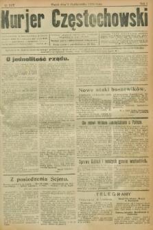 Kurjer Częstochowski. R.1, № 177 (3 października 1919)