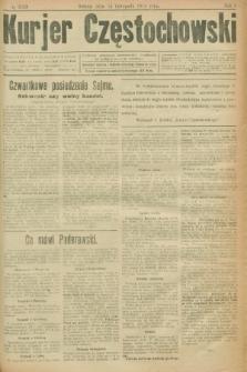 Kurjer Częstochowski. R.1, № 213 (15 listopada 1919)