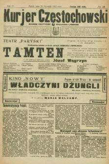 Kurjer Częstochowski : dziennik polityczno-społeczno literacki. R.4, № 16 (20 stycznia 1922)