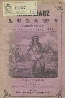 Lewentala Kalendarz Ludowy Obrazkowy na rok przestępny 1864. R.3