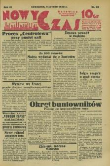 Nowy Czas. R.3, nr 40 (9 lutego 1933)