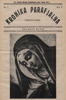 Kronika Parafjalna : dwutygodnik. 1932, nr5