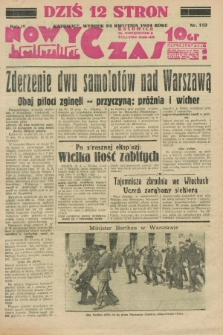 Nowy Czas. R.4, nr 112 (24 kwietnia 1934)