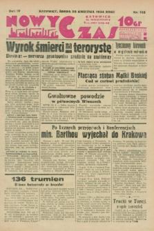 Nowy Czas. R.4, nr 113 (25 kwietnia 1934)